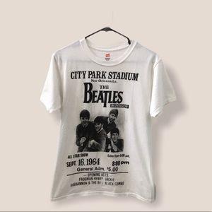 The Beatles Central Park Stadium TShirt